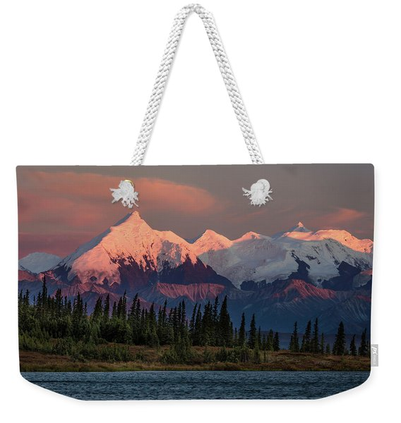 Mount Denali, Previously Known Weekender Tote Bag