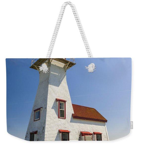 New London Range Rear Lighthouse Weekender Tote Bag