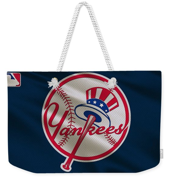 New York Yankees Uniform Weekender Tote Bag