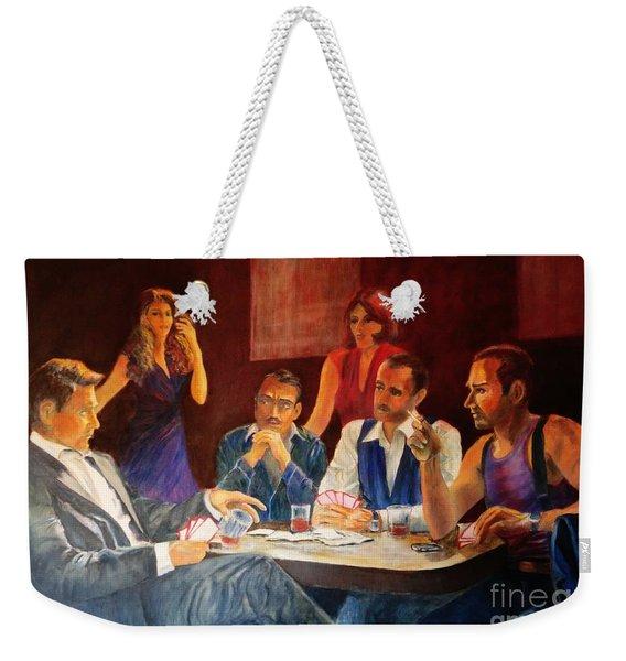 Pokertable Weekender Tote Bag