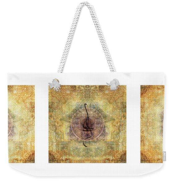 Prayer Flag Triptych  Weekender Tote Bag
