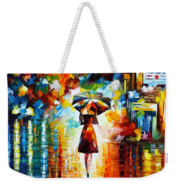 Rain Princess Weekender Tote Bag