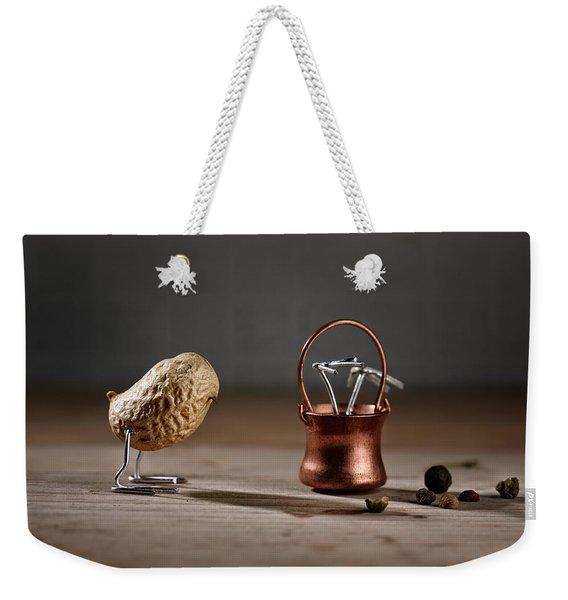 Simple Things -  Strange Birds Weekender Tote Bag