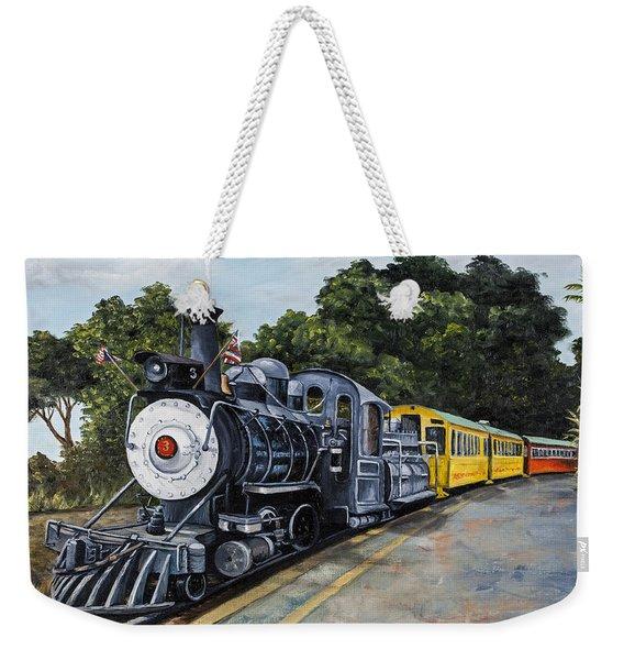 Sugar Cane Train Weekender Tote Bag