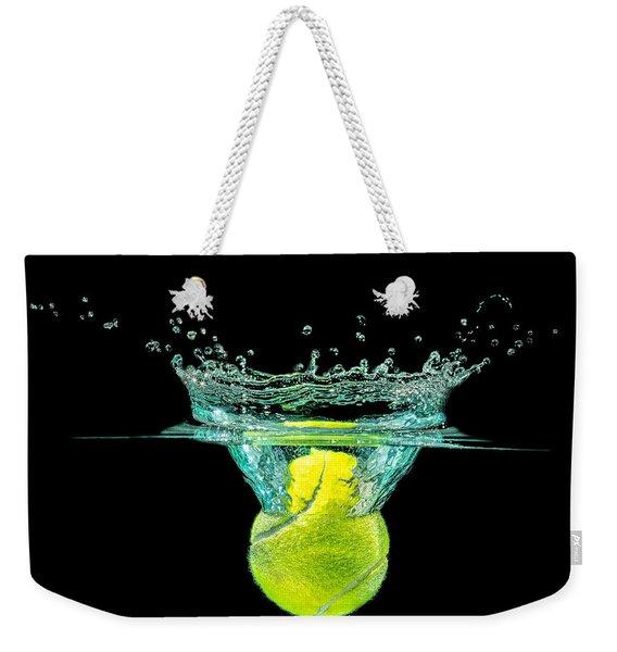 Tennis Ball Weekender Tote Bag