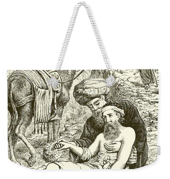 The Good Samaritan Weekender Tote Bag