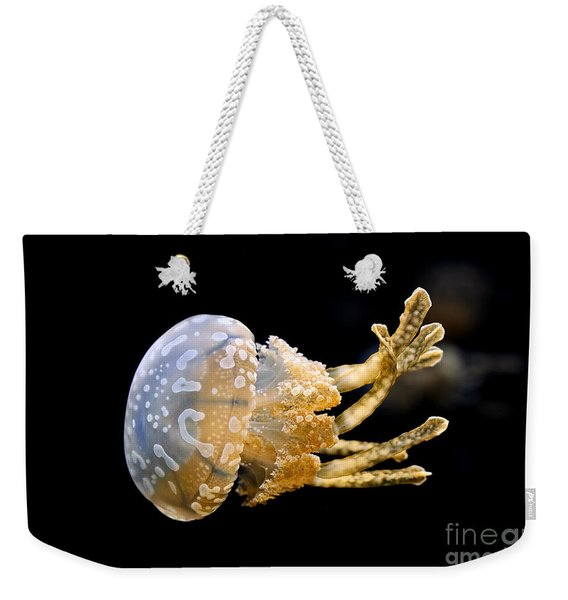 The Spotted Jelly Or Lagoon Jelly Mastigias Papua Weekender Tote Bag