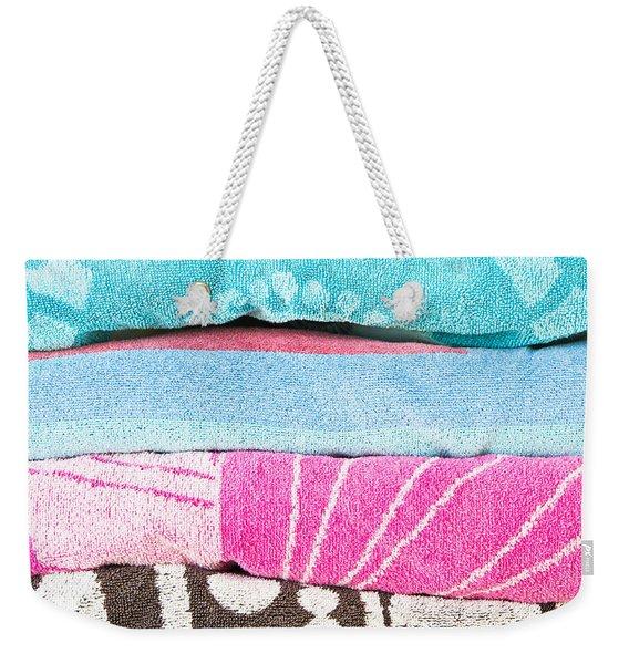 Towels Weekender Tote Bag