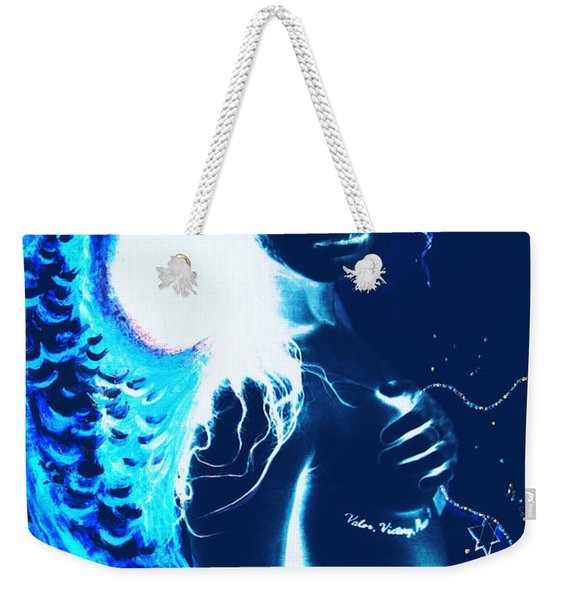When Heaven And Earth Collide 1 Weekender Tote Bag
