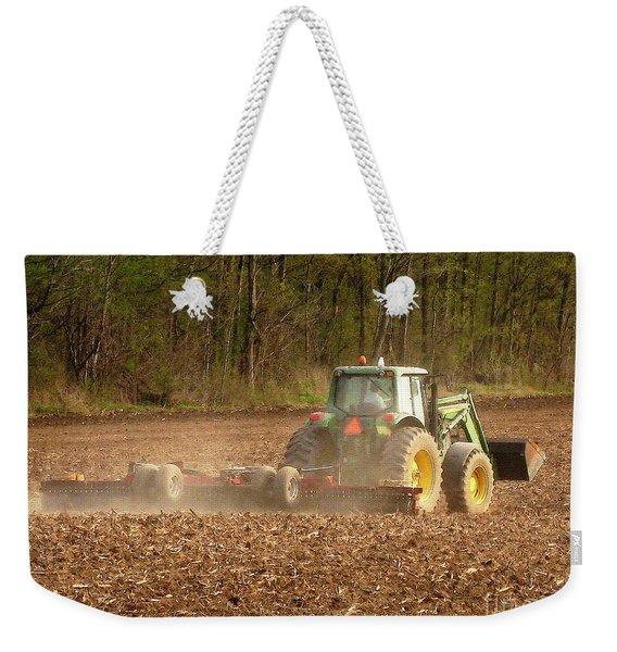 Working The Land In May Weekender Tote Bag