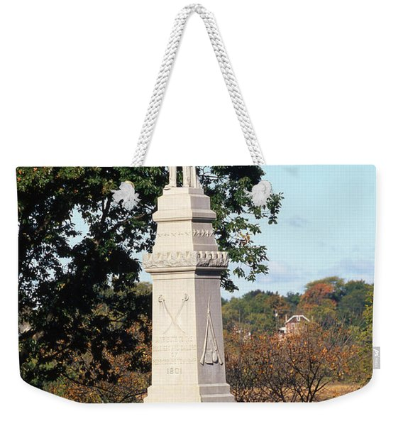 30u13 Hood Park Monument To Civil War Soldiers And Sailors Photo Weekender Tote Bag