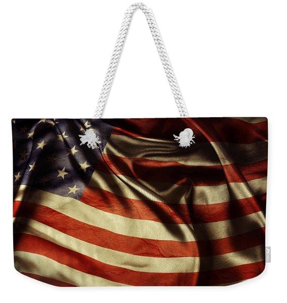 American Flag 51 Weekender Tote Bag