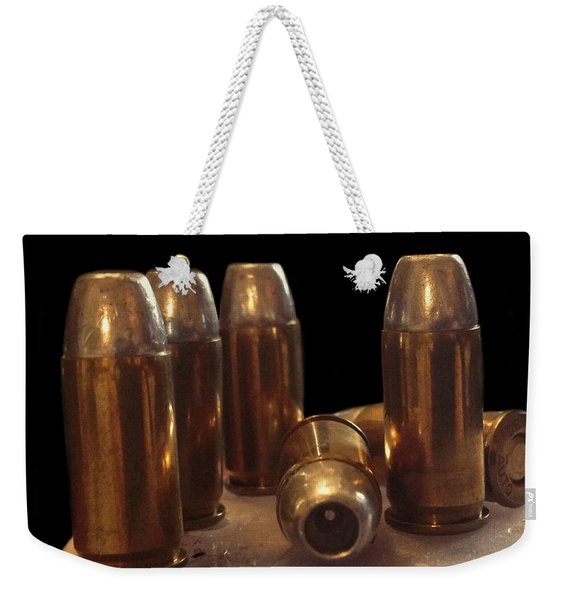 Bullet Art 32 Caliber Bullets 3514 Weekender Tote Bag