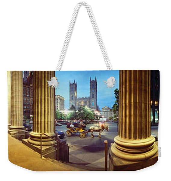 360 Degree View Of The Notre Dame De Weekender Tote Bag