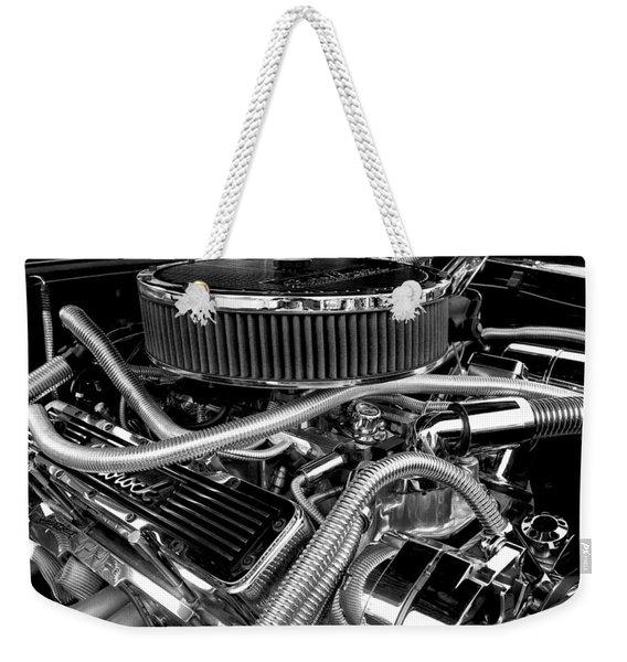383 Small Block Weekender Tote Bag