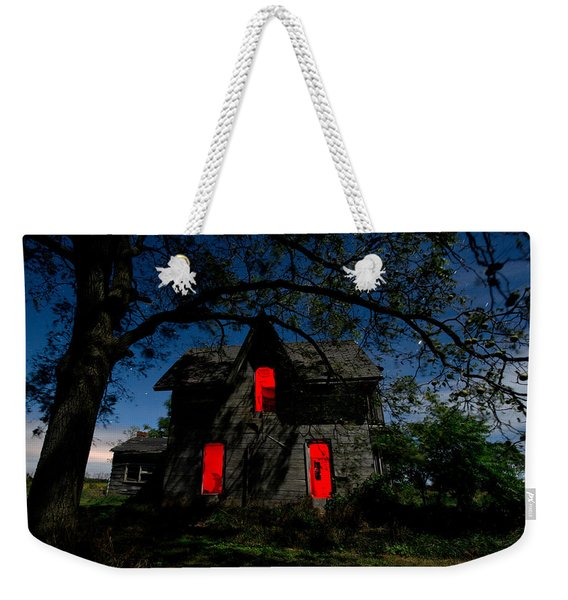 3am At The Farmhouse  Weekender Tote Bag