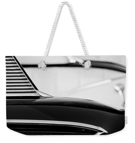 1958 Chevrolet Belair Abstract Weekender Tote Bag