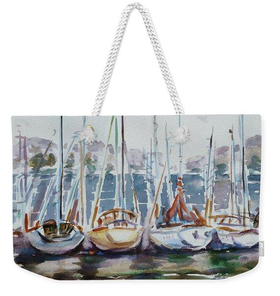 4 Boats Weekender Tote Bag