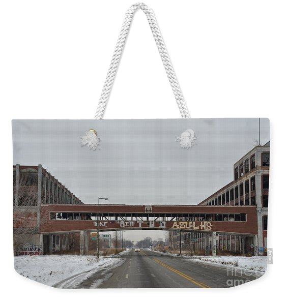 Detroit Packard Plant Weekender Tote Bag