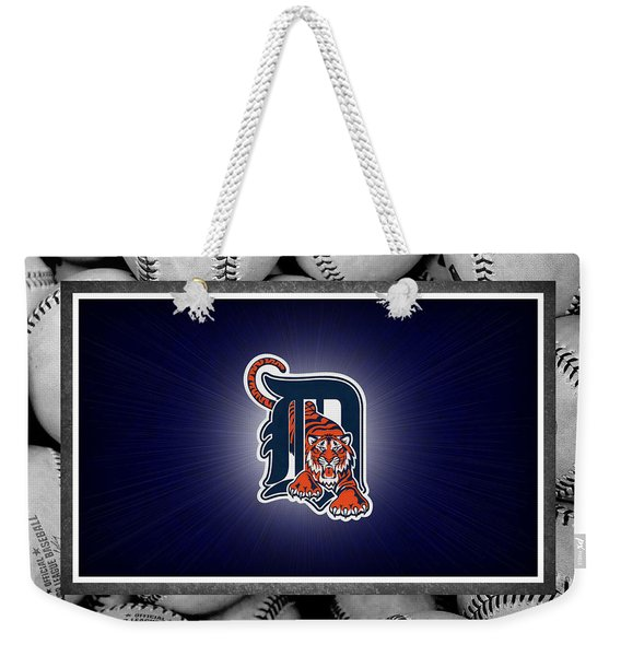 Detroit Tigers Weekender Tote Bag