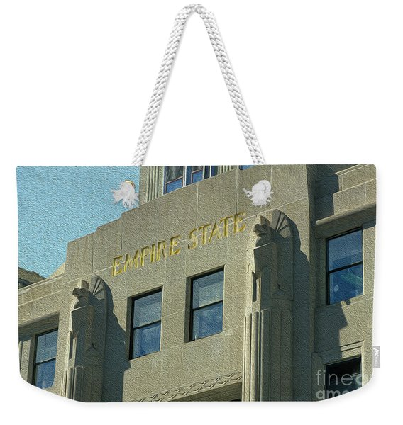 Empire State Building Weekender Tote Bag