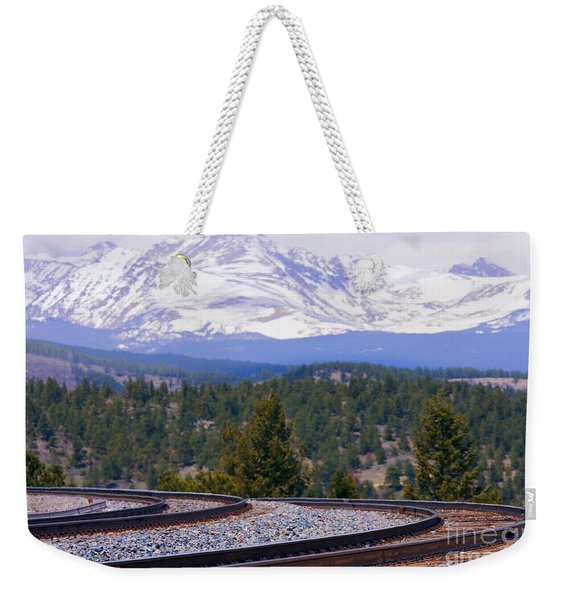 Freight On The Divide Weekender Tote Bag