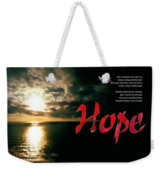 Hope Weekender Tote Bag