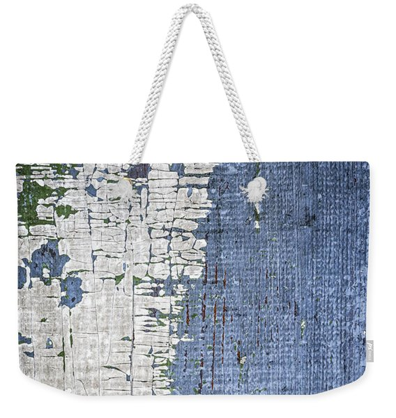 Old Painted Wood Abstract No.4 Weekender Tote Bag