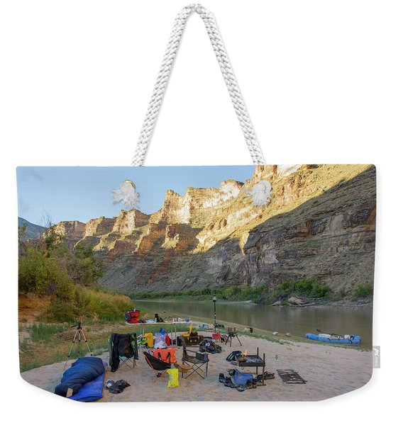 Rafting In Desolation And Gray Canyons Weekender Tote Bag