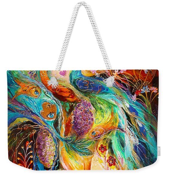 The Grapes Of Holy Land Weekender Tote Bag