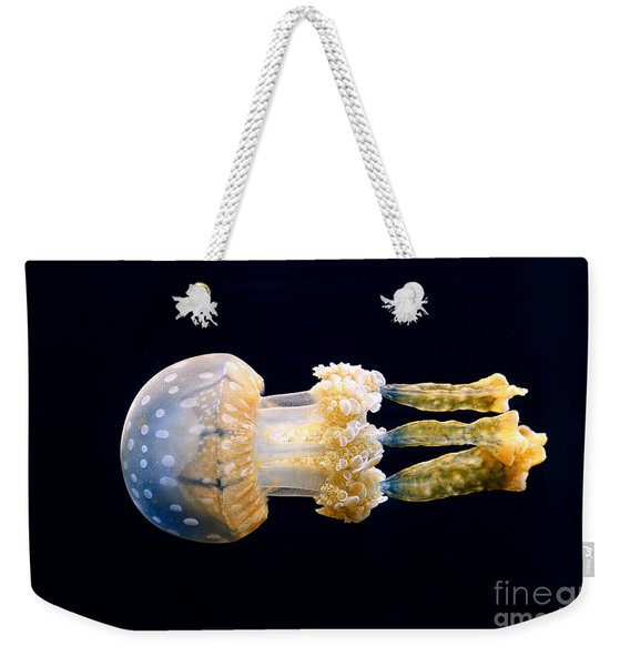 The Spotted Jelly Or Lagoon Jelly Mastigias Papua. Weekender Tote Bag