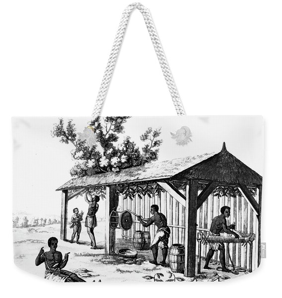 Tobacco Plantation Weekender Tote Bag