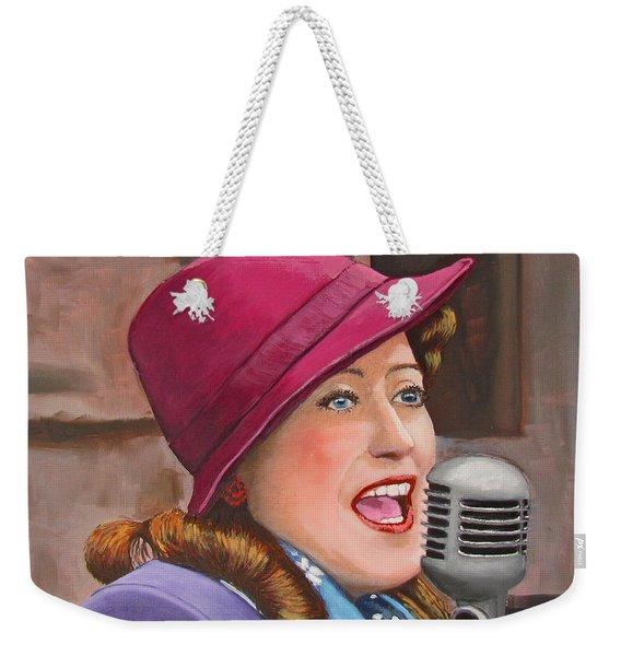40s Singer Weekender Tote Bag