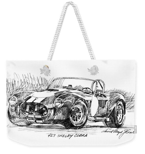427 Shelby Cobra Weekender Tote Bag