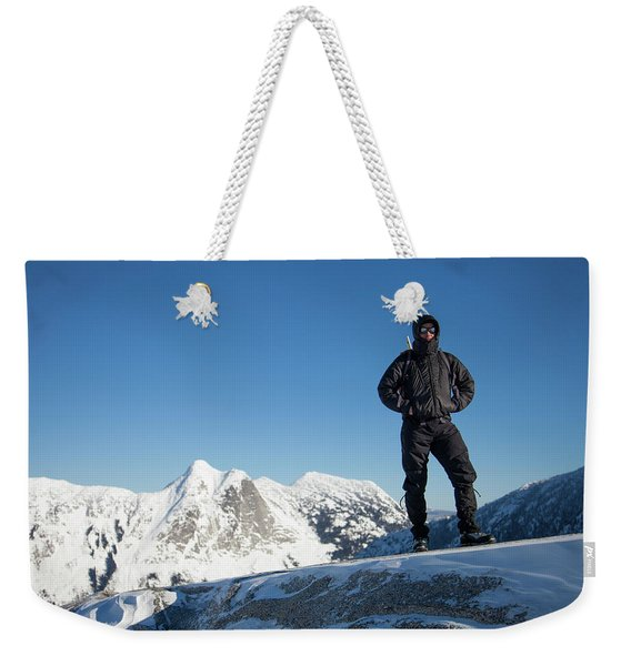Mountaineering Weekender Tote Bag