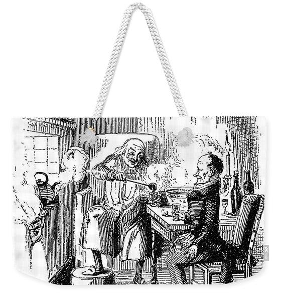 A Christmas Carol Weekender Tote Bag