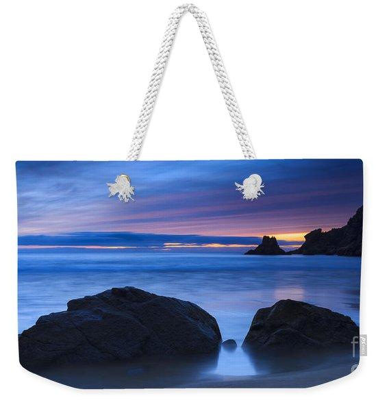 Campelo Beach Galicia Spain Weekender Tote Bag