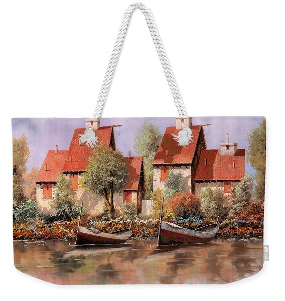 5 Case E 2 Barche Weekender Tote Bag