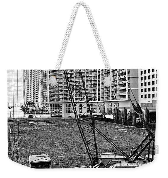 Construction Site-2 Weekender Tote Bag