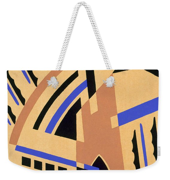 Design From Nouvelles Compositions Decoratives Weekender Tote Bag