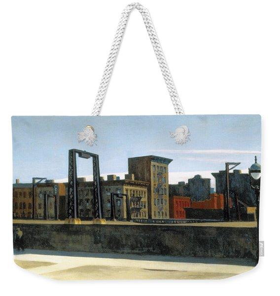 Manhattan Bridge Loop Weekender Tote Bag