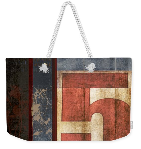 5 For The Books Weekender Tote Bag