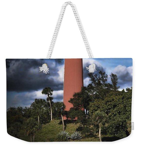 Jupiter Lighthouse Weekender Tote Bag