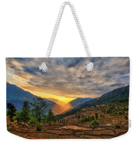 Kalinchok Kathmandu Valley Nepal Weekender Tote Bag