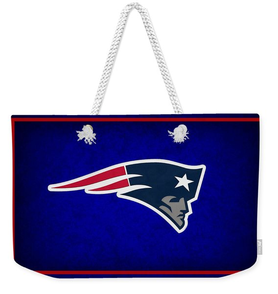 New England Patriots Weekender Tote Bag