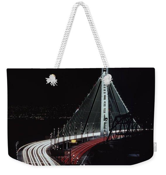 Oakland Bridge Weekender Tote Bag
