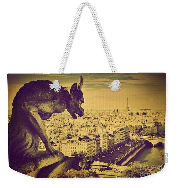 Paris Panorama France  Weekender Tote Bag