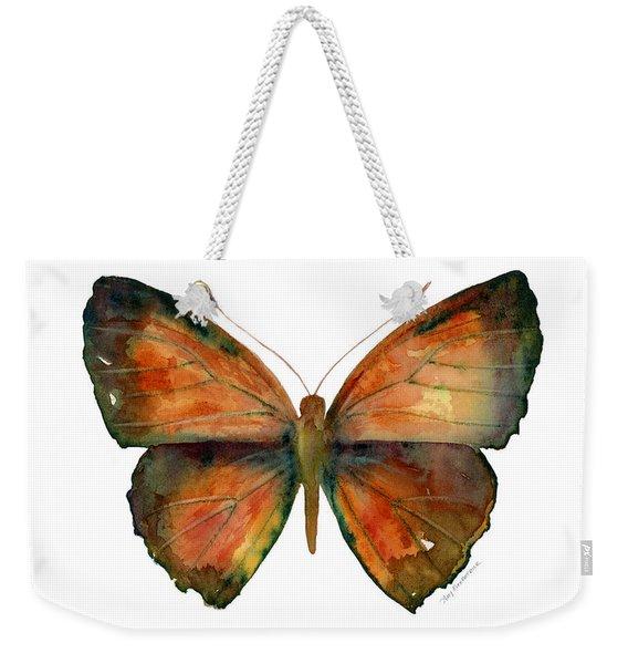 56 Copper Jewel Butterfly Weekender Tote Bag