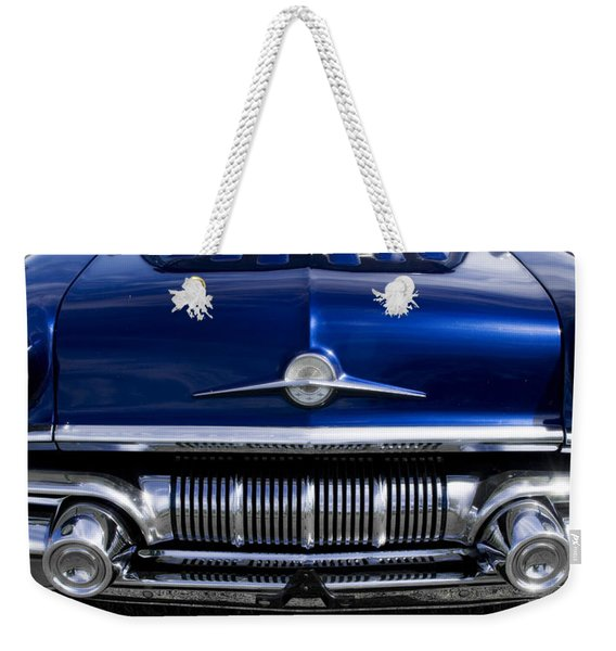 '57 Pontiac Safari Starchief Weekender Tote Bag