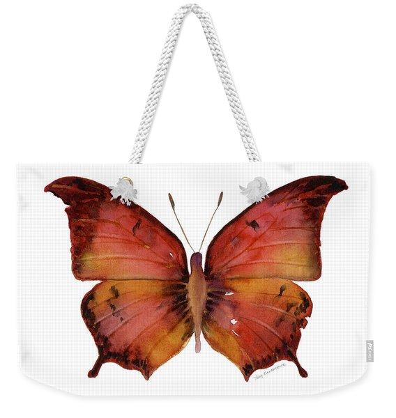 58 Andria Butterfly Weekender Tote Bag